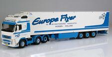 Tekno 1:50 Volvo FH Europe Flyer  Kühlkoffersattelzug