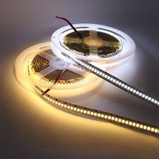1200leds/5m 2835 SMD LED Strip Light Flexible Lamp DC 12V Tape Bar High Bright