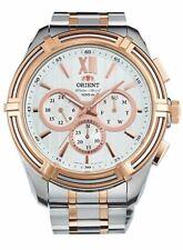 ORIENT Sporty Quartz 100M Heavy Sport 49mm Watch UZ01001W UZ01002B UZ01003W