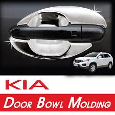 Chrome Door Bowl Molding Cover 8p Kit For 10 11 12 Kia Sorento R