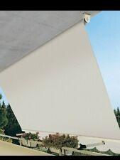 Tenda da sole a caduta da balcone in alluminio con bracci 300x250 cm C/ASTA