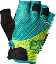 Fox Racing Womens Reflex Short Gel Glove Flo Yellow