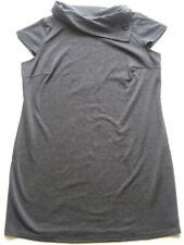 DAXON kurzes Damenkleid Grau ärmellos Gr 44 46 48