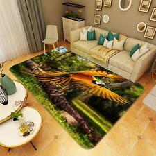 3D Colorful Parrot 133 Non Slip Rug Mat Room Mat Quality Elegant Photo Carpet AU