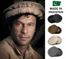 Best Quality Gift Kuchi Afghan Tribal Chitrali Pakol Hat Topi Pakistan Wool Cap