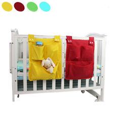 New Kids Baby Crib Cot Bed Nursery Storage Bag Hanging Organizer Tidy Pocket SG