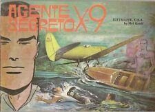 YELLOW KID # 5-AGENTE SEGRETO X 9 -COMIC ART 1974--VL28