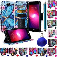 For LG X Power 2 / LG Fiesta LTE / LG LV7 / LG K10 Power Wallet Case Folio Flip