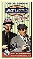 Abbott  Costello - Whos On First (VHS, 1998)