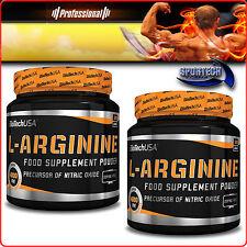 BioTech L-arginine 300/600g arginina polvere stimolo produzione ossido nitrico