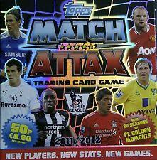 MATCH ATTAX 11 12 - PICK CHOOSE 16 CARD SETS  INC MAN  FROM £1.35  FREE UK POST