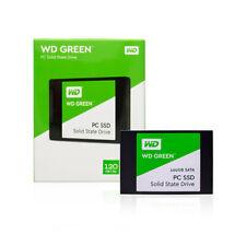 """Western Digital 120GB 240GB SSD Green 2.5"""" Internal Solid State Drive SATA III"""