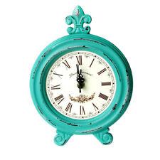 Horloge De Bureau Vintage En Bois De Table Pour Décoration De Maison