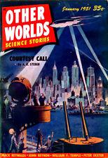 Other Worlds #9 JAMES SETTLES John Berryman MACK REYNOLDS Stanley Mullen V3 No 1
