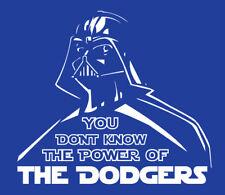 Darth Vader Los Angeles Dodgers shirt Star Wars t-shirt baseball Kershaw LA L.A.