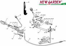 Esploso comando trasmissione freno trattorino rasaerba EL63 XE80VD CASTELGARDEN