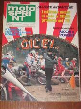 MOTOSPRINT 1980/10 LUCCHINELLI GILERA 250 T4