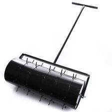 Rasenwalze 80cm Handwalze Gartenwalze Aerator Rasenroller Rasenlüfter Walze