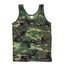 Chaleco de combate de ejército nos Men Camiseta sin mangas Militar Camuflaje Camo elaborado vestido sin mangas