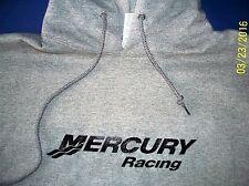 Mercury Racing Screen Printed Oxford Hooded Sweatshirt 9.5 oz. Heavy 50/50s