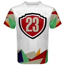 Air Jordan Hare Retro 7 Jersey 23 Men's Sports Mesh Tee T-SHIRT TEES HJ2