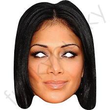 Nicole Scherzinger Celebrity Card Face Mask - All Our Masks Are Pre-Cut!