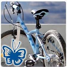 Fahrradaufkleber Schmetterlinge Butterfly Aufkleber Sticker  Fahrrad  F125