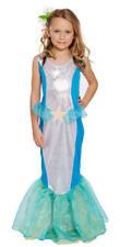 Mythical Little Mermaid Aeriel Girls Fancy Dress Costume Book Week