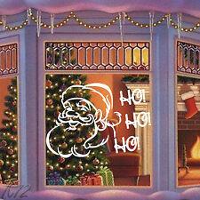Merry Christmas Santa Claus Ho Ho Ho Large Wall Art Decal Vinyl Sticker