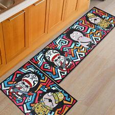 Flannel Bathroom Kitchen Doormat Devil Anti-slip Bedroom Runner Home Carpet