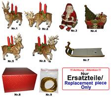 Villeroy & Boch Christmas Toys, Santas Schlittenfahrt Ersatzfigur, V&B Rentier