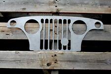1967-1973 Jeepster Commando C-101/C104 Grille Wall Plasma Art / Jeep Decor