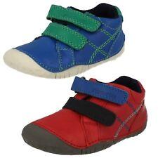 rouge de Garçons / vif bleu cuir riptape STARTRITE pré-marcheurs Chaussures Bébé