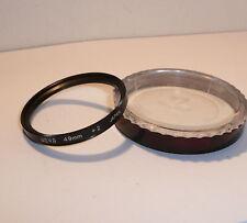 HOYA 49 mm Close-Up +2 Filtro <> Entubado & limpio.