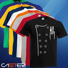 Camiseta cocinero cocinera cocina kitchen chef divertida humor  ENVIO 24/48h