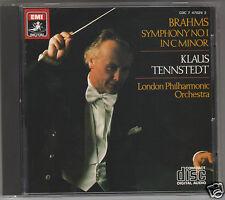 BRAHMS SINFONIA N 1 TENNSTEDT  CD