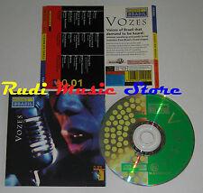 CD cores do brasil VOZES 1991 CHICO BARAQUE DJAVAN MILTON NASCIMIENTO (C12*)