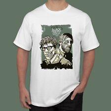 New The Black Keys Garage Indie Rock Band T-Shirt White Color Size S M L XL 2XL