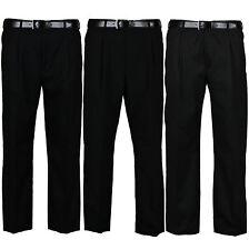 Nouveau Pantalon Homme formelle casual office smart business travail pantalons taille