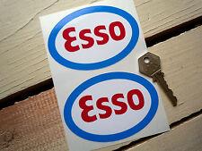 "ESSO 4"" Classic Sports Motor Racing Car stickers F1GP"