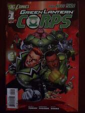 GREEN LANTERN CORPS # 1.  NOVEMBER 2011.  DC COMICS THE NEW 52.  2nd PRINT