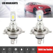 H4 Led Headlight Bulbs Car Cob Super White 3570 Headlamp Halogen Canbus 12v