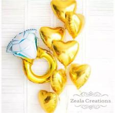 Bridal Shower Kitchen Tea Engagement Party Decorations Balloons Bouquet Proposal