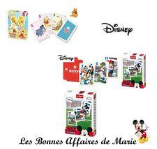 DISNEY - PROMO -50% - Jeu de cartes du pouilleux Winnie ou Mickey footballeur
