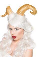 Accessoires Halloween Carnaval Corna or doux uy 14809 cornes courbe déguisement