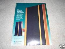Magnepan MG 2.6/r,MG-3.3/r Speakers Ad, 1990