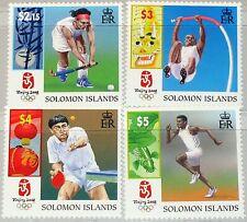 Solomon salomon ISL. 2008 1374-7 Olympics pékin Beijing hockey table tennis MNH
