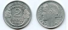2 Francs Morlon Aluminium 1946 BEAUMONT TTB à SUPERBE
