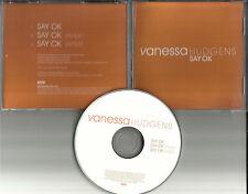 VANESSA HUDGENS Say Ok REPEATS 3 Times PROMO Radio DJ CD Single 2007 USA MINT