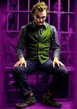 THE JOKER Batman Dark Knight Heath Ledger Art Print Photo Poster A3 A4